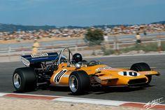 1971 GP Francji (Peter Gethin) McLaren M19A - Ford