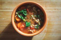 Warrior Kale Soup: A