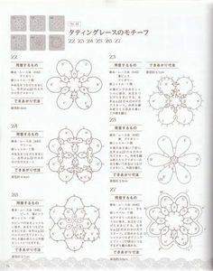 ISSUU - Crochet and tatting lace di vlinderieke