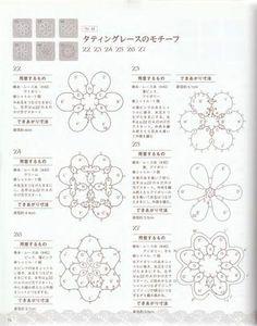 ISSUU - Crochet and tatting lace di vlinderieke