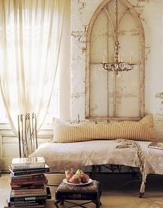 Romantic Shabby Chic Decorating Ideas | am going mad for vintage hues of cream and brown right now. How ...