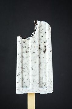 oreo popsicles made with coconut milk or cream