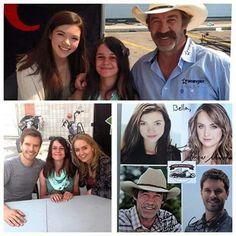 #Heartland #CruiseWithACause at Calgary Harley-Davidson on 8/29/15 - Courtesy of Alisha Newton (Georgie) via Facebook.