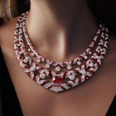 Bulgari Jewelry, Chanel Jewelry, Diamond Jewelry, Jewellery, Diamond Necklaces, High Jewelry, Necklace Designs, Stone Necklace, Fashion Necklace
