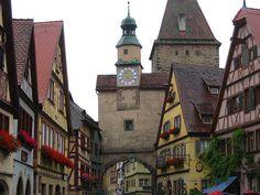 Rothenburg: Röderbogen by zug55, via Flickr