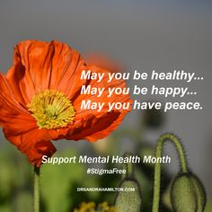May is Mental Health Month. #StigmaFree