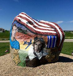 Webster County, Iowa's Freedom Rock by Bubba Sorenson. 29May16