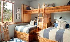 kid modern bedroom by Stillwater Architecture