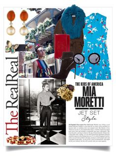 """Jet Set Style With DJ Mia Moretti & The RealReal: Contest Entry"" by goodandwell ❤ liked on Polyvore featuring Prada, Chanel, Yves Saint Laurent, Miu Miu, Jill Golden and Rodarte"