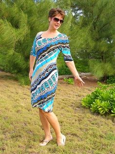 Free dress pattern – easy to sew