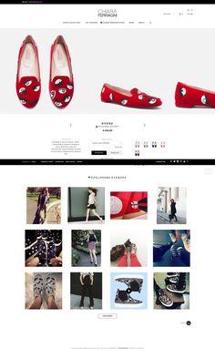 Chiara Ferragni Collection Product page