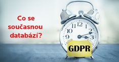 Jak připravit současnou databází kontaktů na GDPR
