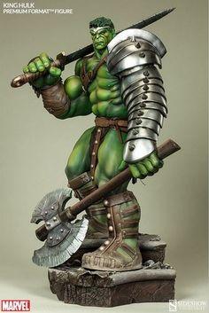 Figurine #Hulk - Edition limitée - #Sideshow Collectibles - #DCComics
