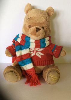 e95f63b1412 Winnie The Pooh 2008 Disney Store Plush Stuffed Bear 12