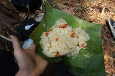 Fried rice, pranzo al sacco durante un trekking nel nord della Tailandia