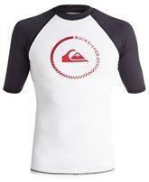 Quiksilver Men's Short Sleeve Graphic Swimsuit Shirt