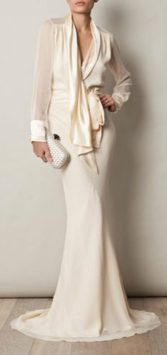 seriously chic mother of bride or groom ensemble- although I trust them to pick out their own too ;)