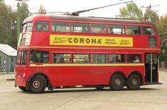London Transport 1812 at Sandtoft London United, South London, West London, Vintage London, Old London, London Transport, Public Transport, Uk History, History Photos