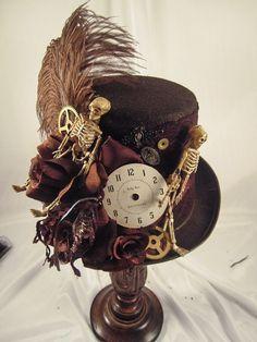 Mens steampunk hat