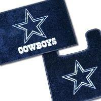 Dallas Cowboys bathroom rug