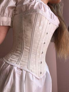 Vintage Corset, Victorian Corset Dress, Estilo Cowgirl, Look Fashion, Fashion Outfits, Outfit Look, Costume, Victorian Fashion, Pretty Dresses
