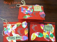 Crafts Cooking Curriculum: Falling Leaves Card