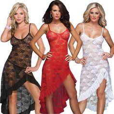 2d33c0501b5 Women s lingerie Lace Dress Long Gown