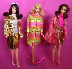 TNT Barbies from the collection of Rosalie A. McFarlane.