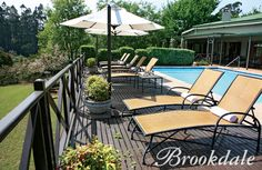 Outdoor pool at Brookdale Health Hydro Outdoor Pool, Outdoor Decor, Outdoor Furniture Sets, Health, Holiday, Home Decor, Vacations, Decoration Home, Health Care