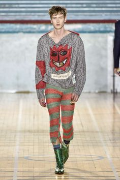 Vivienne Westwood Fall-Winter 2017 - London Fashion Week Men's