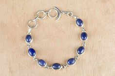 #‎Wholesale‬ ‪#‎Retail‬ ‪#‎Beautifully‬ ‪#‎Handmade‬ ‪#Lapis #Lazuli‬ Gemstone ‪#Bracelet‬ for Women,by Brillante Jewelry Made from 92.5 sterling Silver #Lapis #Lazuli Gemstone #Bracelet. And by using Natural Gemtones..Pick this #Bracelet to add new definition to your Personality.About the Brand-Associated with Glamour,style and class,Brillante–Jewelry fashion jewelry appeals to,women across all age-groups.