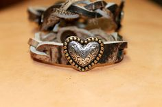 Braided Camo with Heart - Six Shooter Gifts