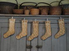 Vintage Quilt Stockings
