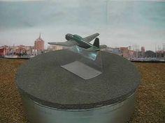 Wiking Flugzeug im Maßstab 1:200 USA 13