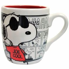 Peanuts Joe Cool Comics Mug