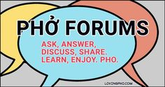 Pho Forums are open! For pho restaurateurs and home cooks: Find answers to important questions about pho, pho restaurants, pho business or making pho at home. Restaurant Business Plan, Restaurant Consulting, Home Made Pho, Making Pho, How To Make Pho, Pho Restaurant, Bun Cha, Vietnamese Pho, Pho Recipe