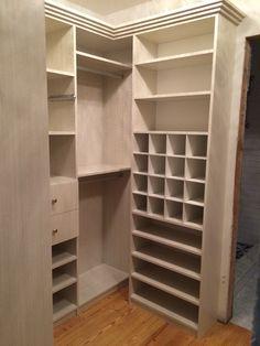 Closet Factory - master closet