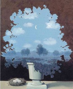 The land of miracles via Rene Magritte