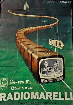 Vintage Italian Posters ~ #illustrator #Italian #vintage #posters ~ Tecnologia d'Italia