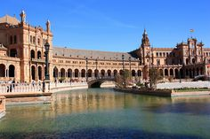 Plaza de España, Seville Spain - used to cross through here on my way to the university!  Not too bad!!!!!