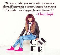 Cher Lloyd Quote