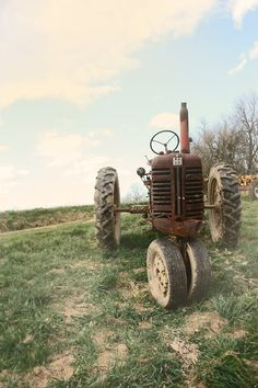 Old farm tractor still going strong