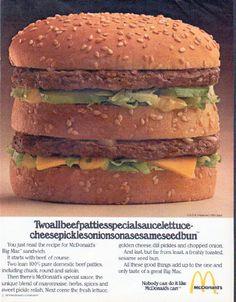 "1979 McDonald's Ad ""Twoallbeefpatties"""
