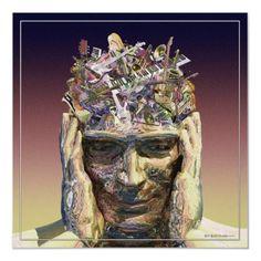 Music Head  by Rick_Borstelman