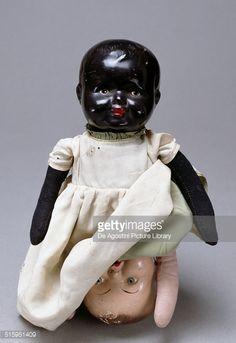 News Photo : Topsy-Turvy or double headed doll, 1935-1940....