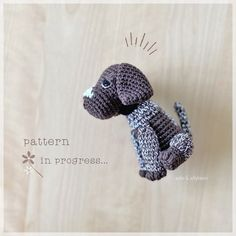 As promised✨New patterns are slowly coming together🐾 This little puppy's pattern will be ready for testing soon and I'll be calling out for… Little Puppies, Toy Sale, Jelly Beans, I Shop, Crochet Patterns, Design, Animals, Instagram, Amigurumi