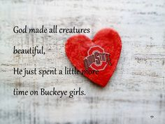 Buckeye Girl ❤❤ Loves Ohio State...