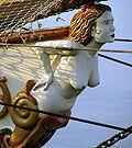 Armada de Rouen - grands voiliers - Les figures de proue