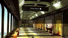 Deus EX HR Corridor