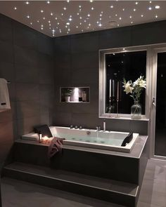 50 Luxury Interior Design Ideas For Your Dream Hou. - 50 Luxury Interior Design Ideas For Your Dream House - Dream Bathrooms, Dream Rooms, Luxurious Bathrooms, Dark Bathrooms, Master Bathrooms, Luxury Interior Design, Bathroom Interior Design, House Interior Design, Dream House Interior